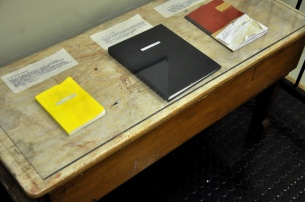 Inventory of Sources, 1. The Yellow Notebook, 2. The Blue Notebook, 3. The Damaged Notebook