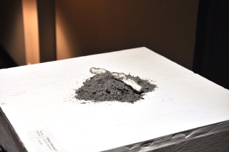 """Without Opening It"" Ashes, paper & song Breanne McDaniel"