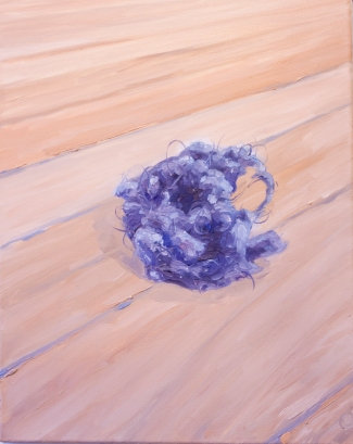 'Lint' by Breanne McDaniel, Oil on Canvas. From Voices.
