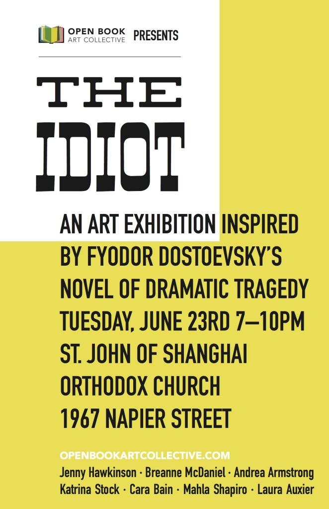 Idiot poster
