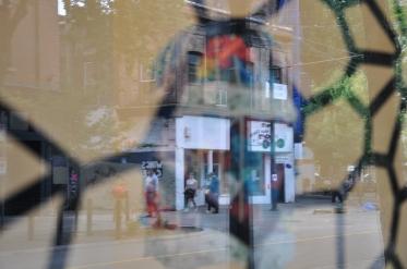 Idiot Entombed:Stage 3: street reflection