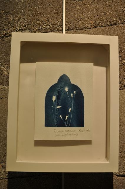 Te mau pure atua [the people of God] | Kristin Voth | cyanotype prints